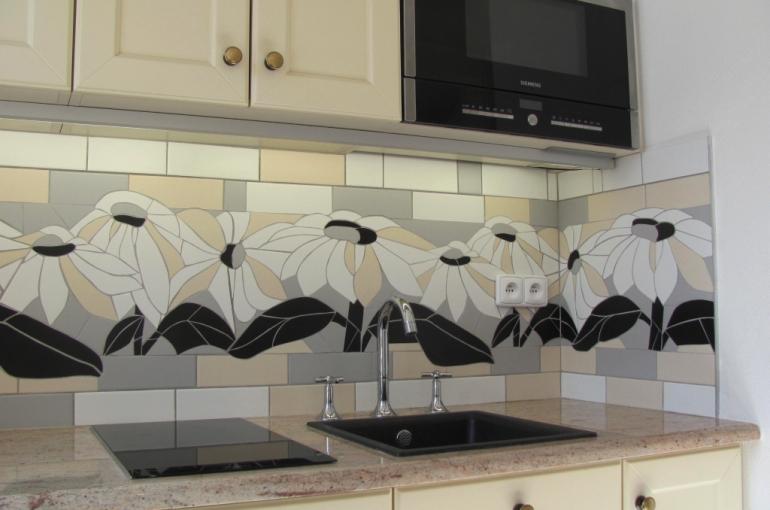 mozaika za kuchyňskou linku