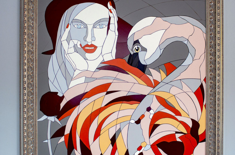 mozaikový obraz