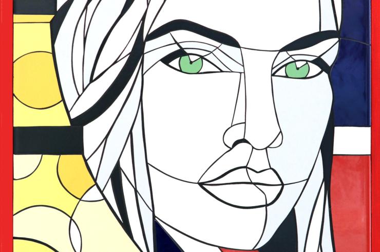 mozaika – obraz